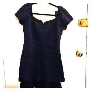 Funky Beautiful Dark Blue Dress
